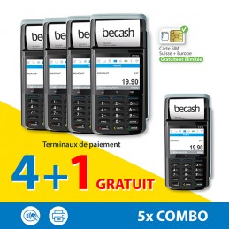 Pack 4+1 Combo  terminaux...